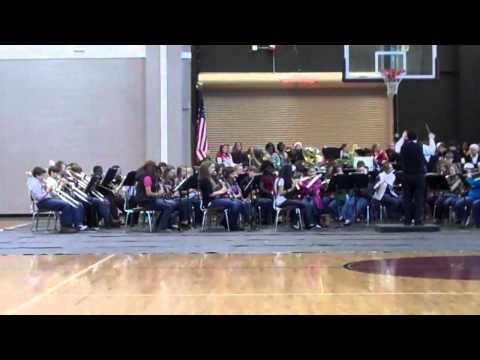 Nichols Lawson Middle School, Sylacauga, AL Band  2011