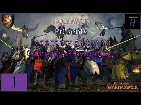 Totalwar Warhammer: Legendary Bretonnia Playthrough Part 1 - Dealing with Mousillon