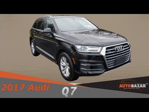 Ролик 2017 Audi Q7 3.0 Quattro видео. Тест драйв Ауди Q7 2017 на Русском. Авто из США.