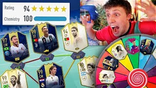 Download 194 FUT DRAFT MYSTERY WHEEL CHALLENGE - FIFA 19 Mp3 and Videos