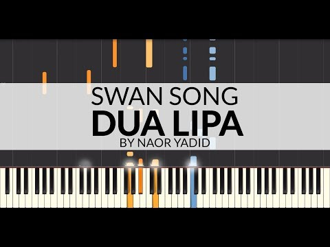 Swan Song (From Alita: Battle Angel) - Dua Lipa (Piano Tutorial)