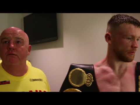 'EDDIE HEARN - WE WANT A GOLD ROLEX' - JAMES TENNYSON DESTROYS MARTIN J WARD IN FIVES ROUNDS -