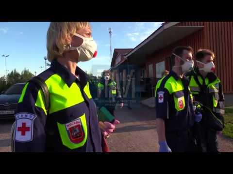 Московские врачи прибыли в Псков для помощи в борьбе с коронавирусом