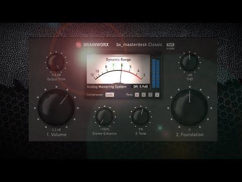 Mastering Made Easy. Brainworx bx_masterdesk Classic for UAD