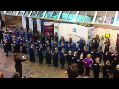 'Sing Out with Strings' perform at Clúid's EYAA 2012 Celebration