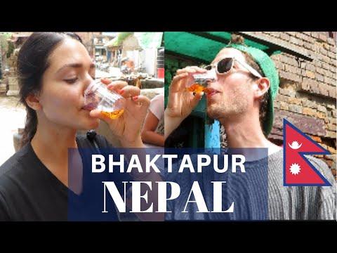 Drinking Nepal MOONSHINE