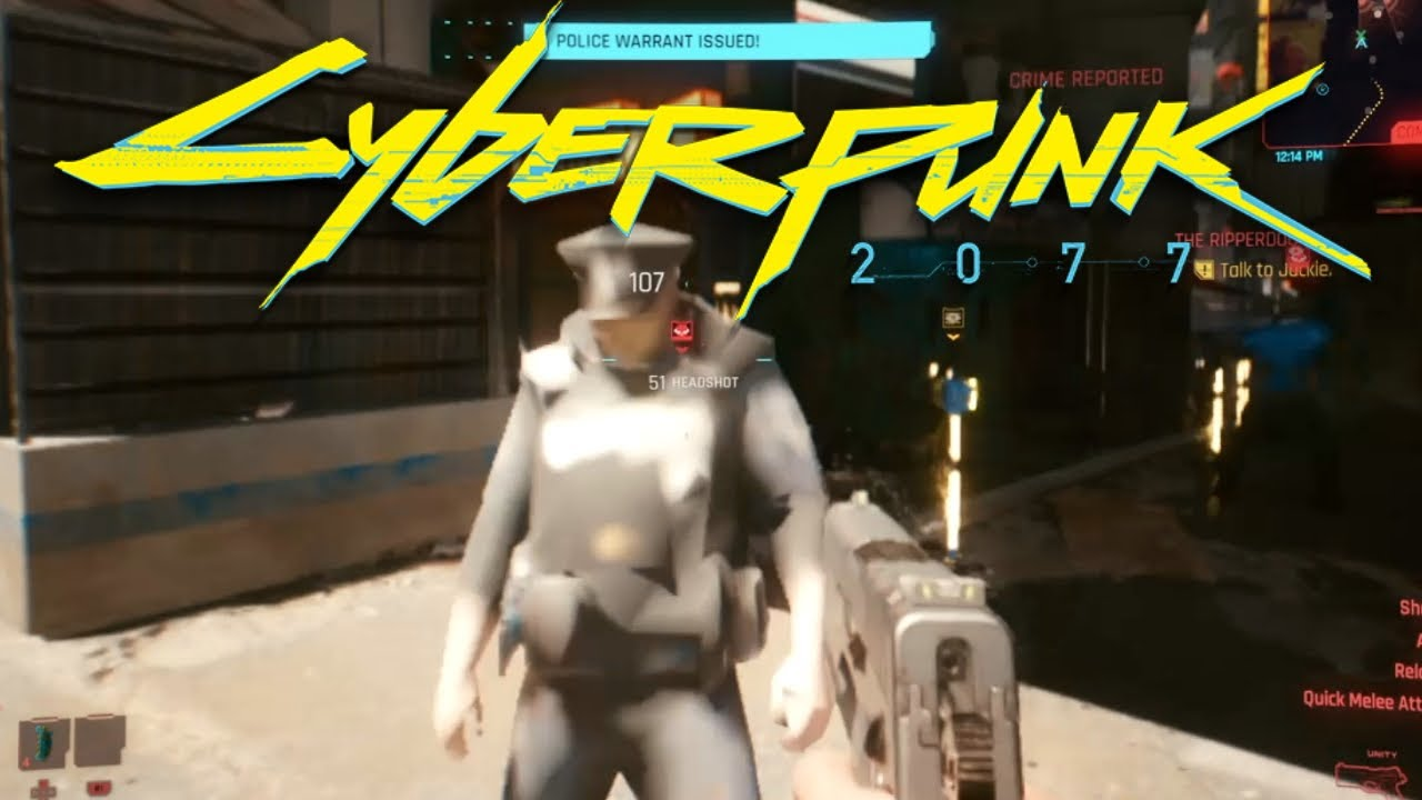 Cyberpunk 2077: Glitches & Bugs Compilation Part 1 (NO COMMENTARY) - YouTube