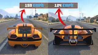 CYCLONE vs X80 PROTO | TEST DE VELOCIDAD GTA 5 ONLINE (DLC Smuggler's Run)