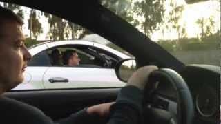 BMW M3 (E92) vs MERCEDES BENZ SLK 55 AMG  [ETI /// M3-Power]