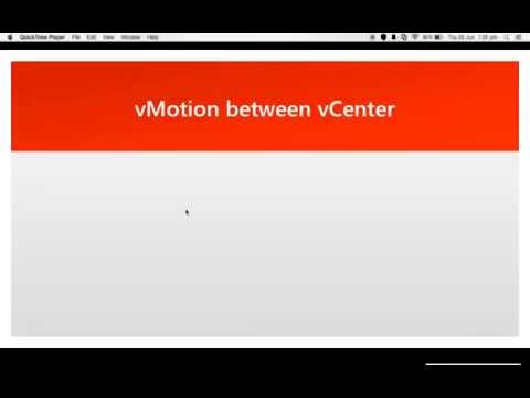 Cross vCenter vMotion VMware vSphere 6 0