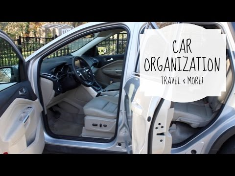 Cheap Car Organization (for travel & more!)