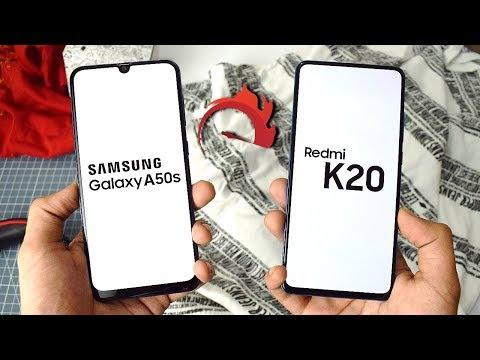 Samsung Galaxy A50s vs Redmi K20 Speed Test