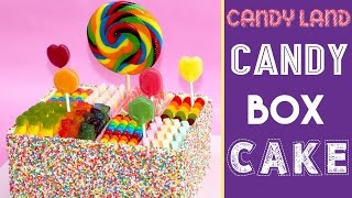 CANDY BOX CAKE | Inspired by CANDYLAND | Elise Strachan | My Cupcake Addiction