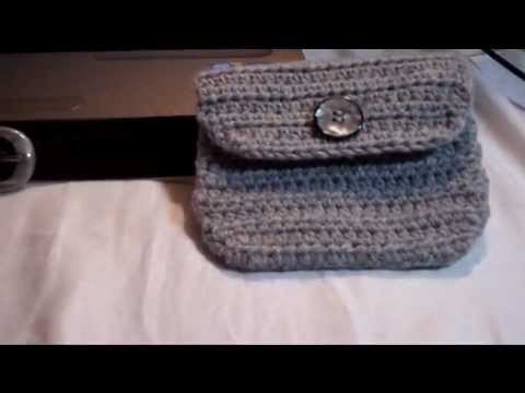 Crochet Belt Pouchbag Youtube