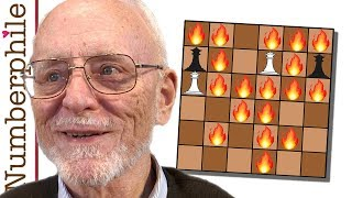 A final game with Elwyn Berlekamp (Amazons) - Numberphile