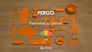 Vedligeholdelse laminatgulv: fjernelse af pletter