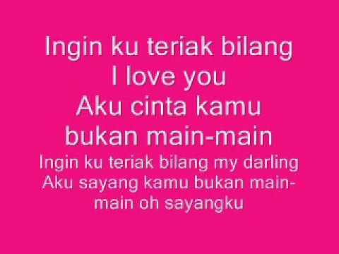 Adinda Band   Bukan main main   Official lyric video