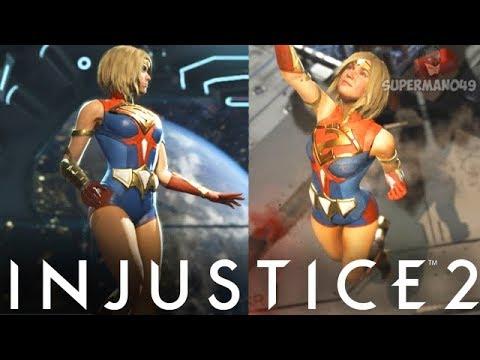 LEGENDARY CAPELESS SUPERGIRL DOMINATES! - Injustice 2: 'Supergirl' Gameplay
