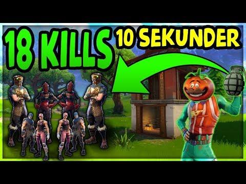 18 KILLS PÅ 10 SEKUNDER | Danske Fortnite Highlights #104