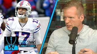 Can Josh Allen fix his accuracy in his second season? | Chris Simms Unbuttoned | NBC Sports