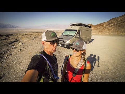 Halloween In Death Valley National Park in our Camper Van - #vanlife | Adventure in a backpack