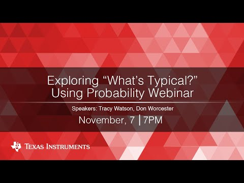"""Exploring """"What's Typical?"""" Using Probability"""