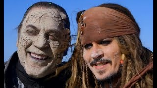 🏹 Pirates of the Caribbean: Dead Men Tell No Tales 2017 (Behind the scene)