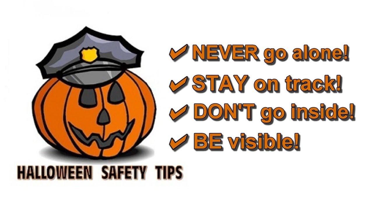 Lake Mills Police Pointer - Halloween Safety Tips - YouTube