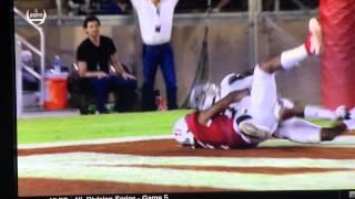 Stanford vs UCLA 2015 - Amazing Behind the Back TD - Francis Owusu