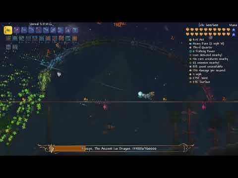 Terraria Jetshift Mod - Frezyn, The Ancient Ice Dragon