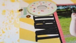 Scrapbooking Process 490:  July Hip Kit (2015- 123/180)