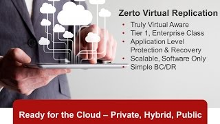 Zerto Virtual Replication Overview and Software Demo