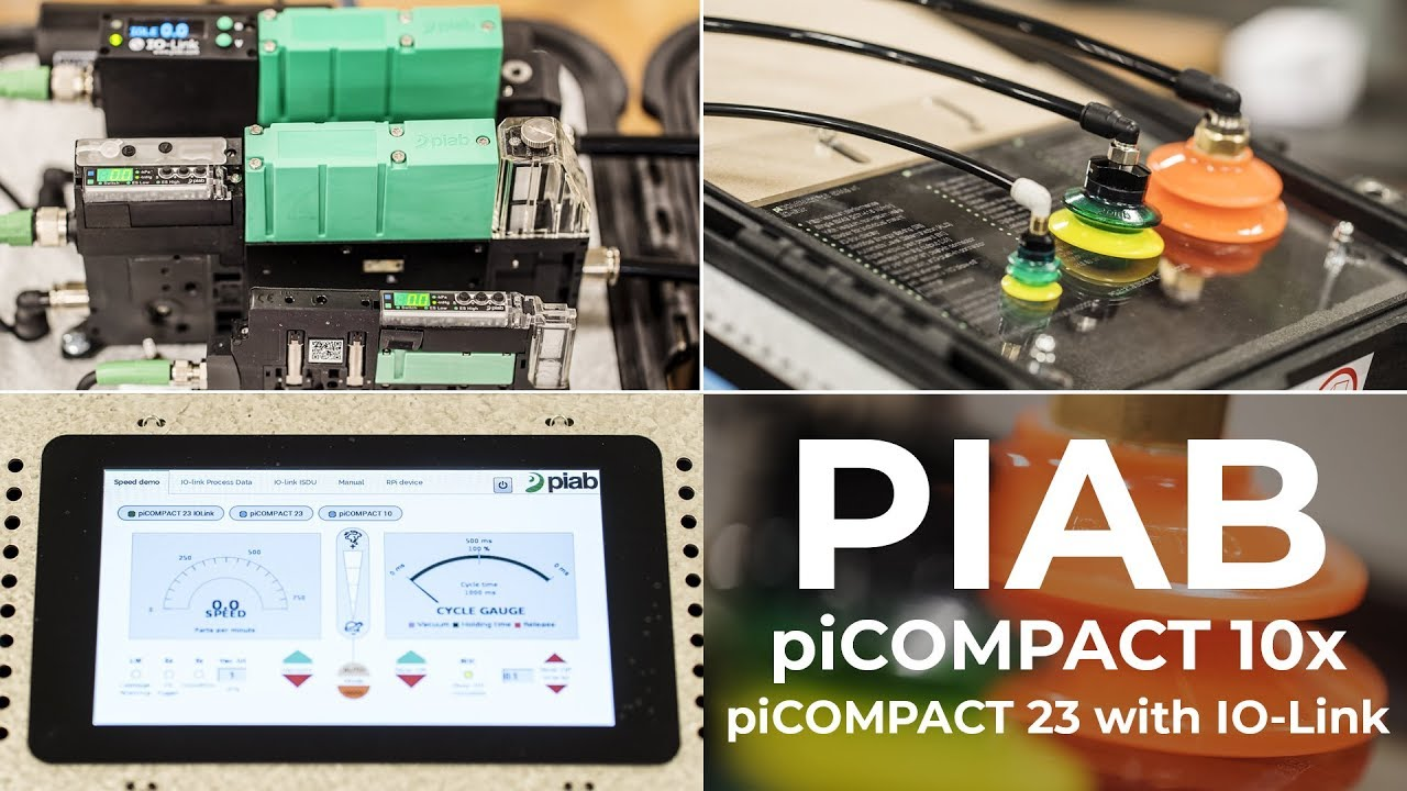 Piab Picompact 10x 23 Vacuum Pump At House Of Design Circuit Robotics Is For All