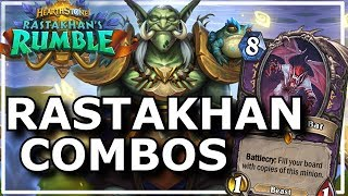 Hearthstone - Best of Rastakhan's Rumble Combos