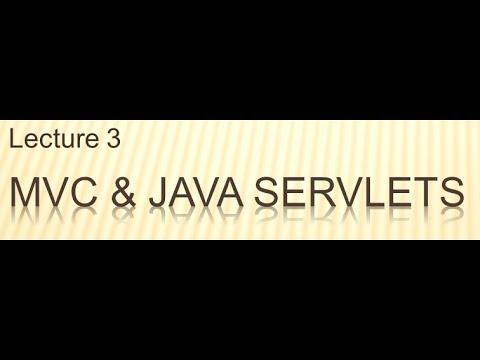 L03-V01: MVC and Java Servlets