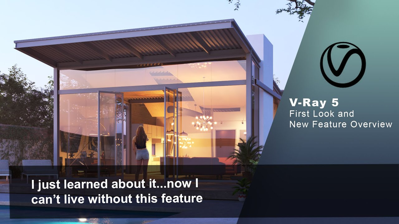 V-Ray 5 Released! New Features Overview
