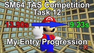 Super Mario 64 TAS Competition Task 12 - My Entry Progression