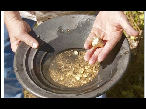 FOUND 8 OZ GOLD NUGGET!!!! WHILE GOLD MINING IN BIG BEAR!!!!!