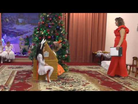 Новогодняя сказка лиса, заяц и петух