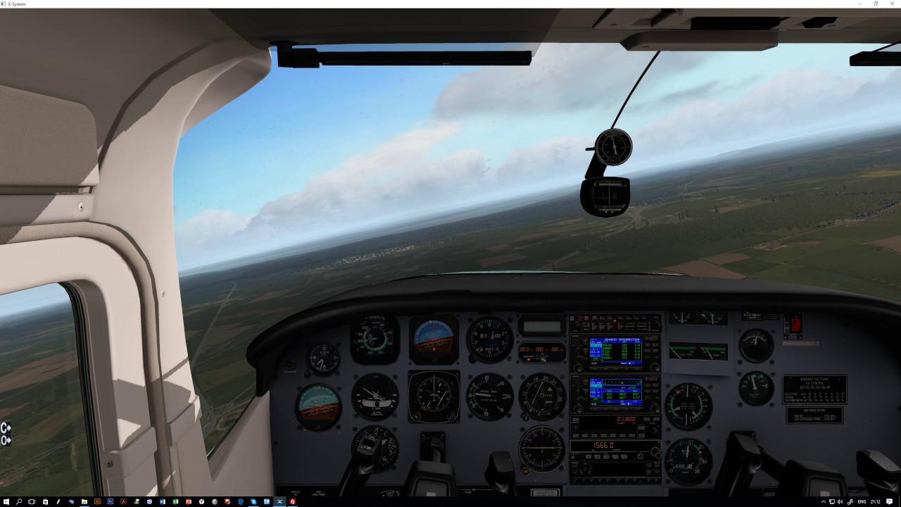 X-Plane 11. xEnviro clouds shadows and lighting test ...