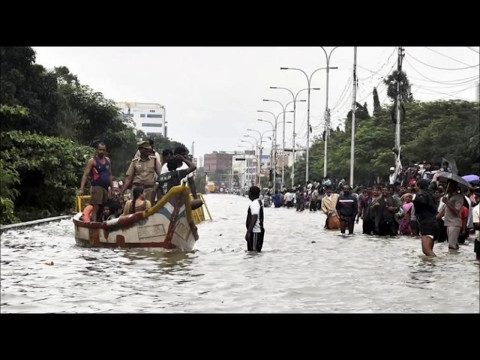 2015's Most Painful Natural Disaster  Chennai flood