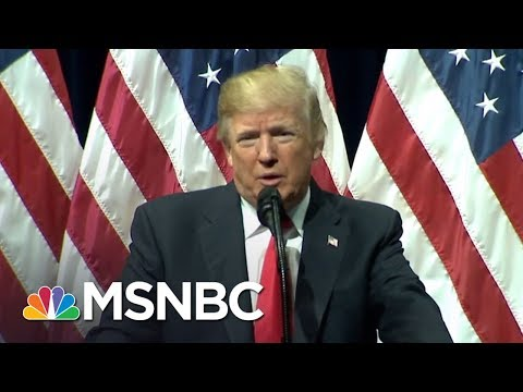 "Melber: President Donald Trump Uses ""Twitter Fingers"" In FBI Slam 