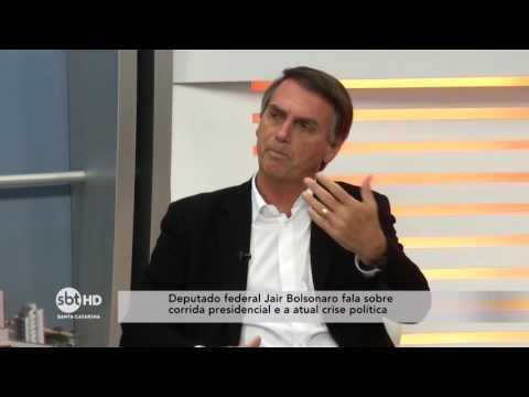 Entrevista com o Deputado Federal Jair Bolsonaro no SBT Meio-Dia - Bloco 2