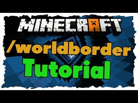 Minecraft /worldborder Command - Tutorial...