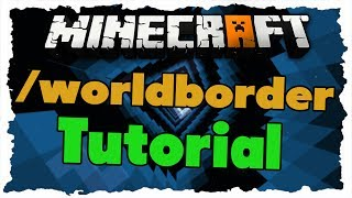 Minecraft /worldborder Command - Tutorial - Weltbegrenzung [Deutsch|HD+]