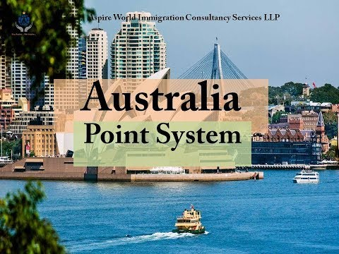 Australia Immigration Eligibility Point System | Aspire World Immigration Consultancy Services LLP