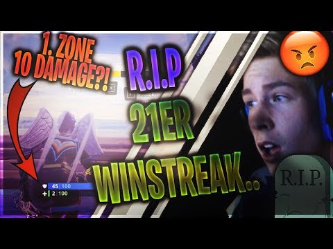 😡21er WINSTREAK am ARSCH wegen *NEUEM* DAMAGE BUG?!😡 | HUSKEY THE LEGEND rettet alles..