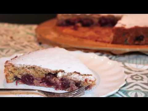 Mandel Kirsch Kuchen Mit Dem Thermomix Youtube