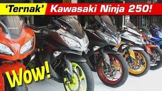Wow! 'Ternak' Kawasaki Ninja 250!