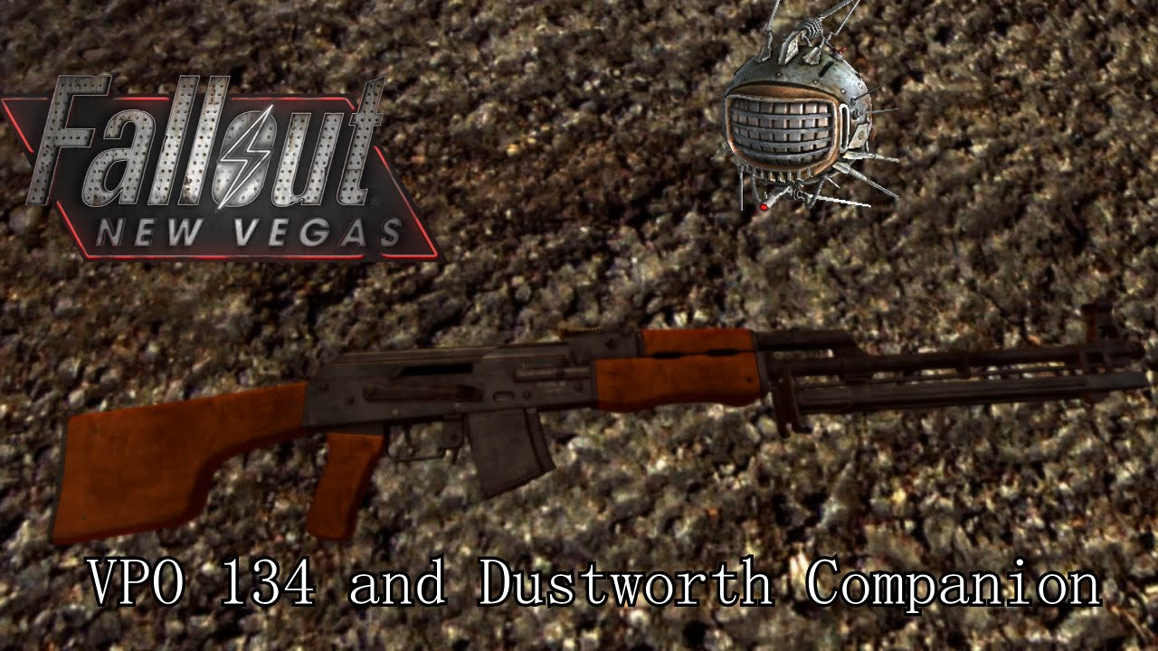 Fallout New Vegas Mods: VPO 134 Hunting Rifle and Dustworth Companion - YouTube